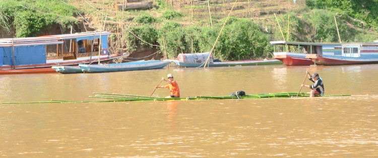 canoe banbou