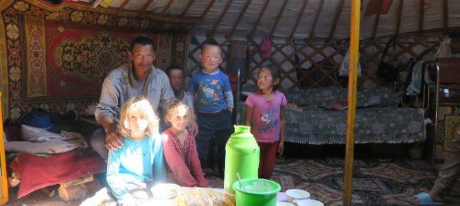 Mongolie à vélo (par Tiago et Lilou)