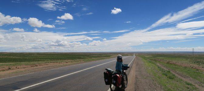 Le Gobi à vélo…
