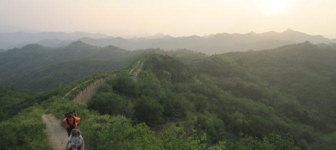 Beijing et la grande muraille (presque) sans les vélos !