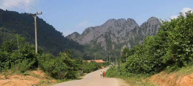 Laos : Les photos de Vang Vieng à Vientiane