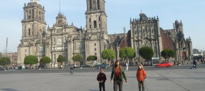 Les photos de la Paz à Mexico et Palenque :