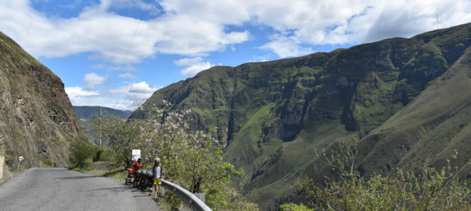 De Popayan à Pasto, encore de la montagne !