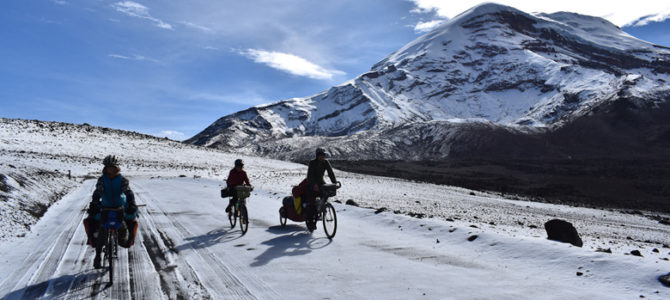 Les photos du Chimborazo et du début de la route pour Cuenca…