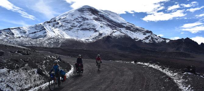 Du Chimborazo, volcan le plus haut d'Equateur, à Cuenca