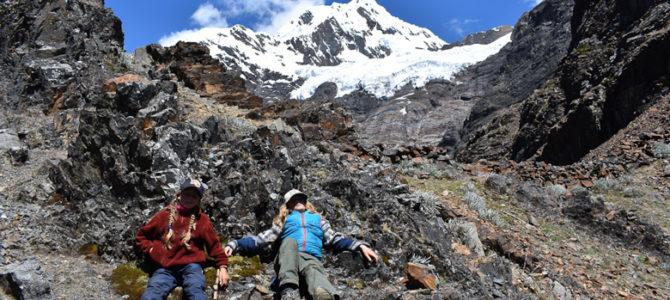 Le trek de l'Alpamayo vu par Tiago et Lilou :