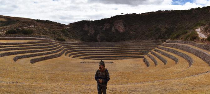 Site de recherche agronomique inca : Moray (Tiago)